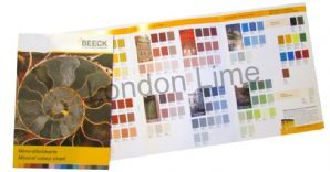 Beeck Printed Colour Card | London Lime